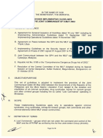 2017-12-14 Revised Implementing Guidelines on the Joint Communiqué of 6 May 2002