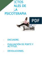 Aspectos Formales de La Psicoterapia