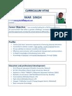 Manoj Chauhan Bio Data Final
