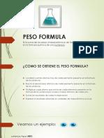 Cálculo de Formulas