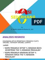 Presentasi Bab 11_mhs_analisis-Regresi Sederhana