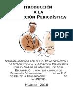 Curso de Introducción a La Redacción Periodística