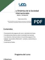 estructura y dinámica de la sociedad internacional