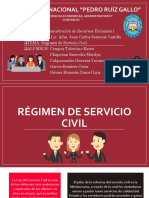 Regimen de Servicio Civil