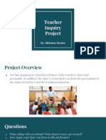 teacher inquiry project