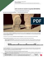 Todo Lo Que Debes Saber Sobre Normativa de Calzado de Seguridad (INFOGRAFÍA)