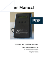 Dylos Dc 1100 Laser Particle Counter Owner's Manual