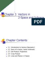 Chapter 3 Vectors In
