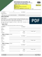 Cattery Registration