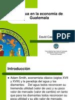 El agua en la economía de Guatemala