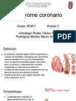 Síndrome coronario