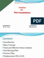 Civil Pile Foundation Ppt