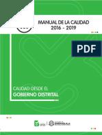 Manual de Calidad de La Alcaldía de Barranquilla.
