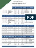 Plan Estudio UPG Forense y Crtiminologia 2019