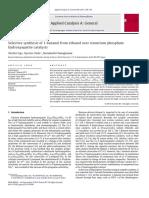 Ethanol to butanol by Hidroxyapatite