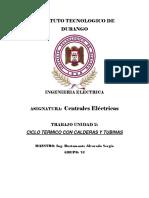 Trabajo Unidad 2 Centrales Electricas