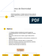 Fund de Electricidad Atomo, Conductores, Semiconductores. Clase