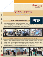 News Letter of VIT & VP March2019 Edition