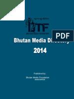 Media Directory 2014 Bhutan