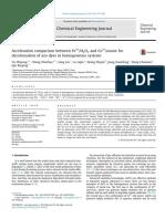Cuantificacion de Pesticidas Organofosfo
