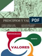 Principios y Valores