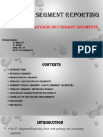 As 17 - Segment reporting - Primary and Secondary Segment