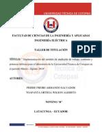 proyecto modulo de medición trifasico