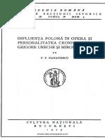 Panaitescu - Influenta polona. cronicari.pdf