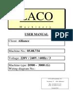 Laco - User Manual
