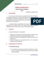 2-Perfil Del Proyecto de Bdatos 2019-i