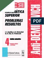 Análisis Matemático - Tomo 4 [Antidemidóvich]