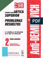 Análisis Matemático - Tomo 2 [Antidemidóvich].pdf