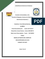 Manual de Puestos Centro Educativo