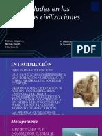 Las Ciudades en Las Primeras Civilizaciones Casi Terminado