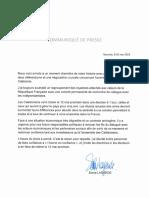 La position de Sonia Lagarde pour le 12 mai
