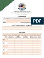 WSC Penang Registration Form