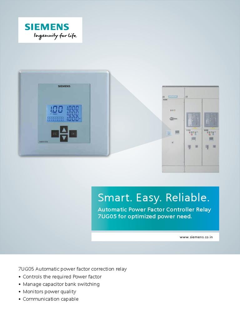 SIE APFC-controller.pdf | Ac Power | Electric Power on