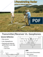 Ground Penetration Radar a Comparison to Seismic Reflection