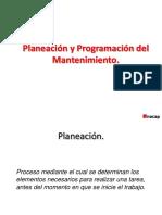 PLANEACION Y PROGRAMACION DEL MANTEMNIMIENTO CLASE  19102018.pptx