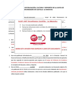 Modelo Recurso Alzada Aspirantes Seleccionados Definitivo Fesp Ugt Enseñanza Clm