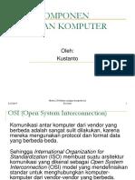 Sesi 2 Komponen Jaringan Komputer