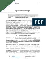 Taller Camilo Pliego de Condiciones Declaratoria Desierto Contrato