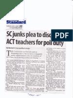 Manila Standard, May 2, 2019, SC junks plea to disqualify ACT teachers for poll duty.pdf
