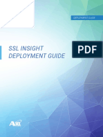 A10 SSL Insight Deloyment Guide