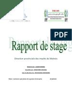 Rapport de Stage DGI MEKNÈS