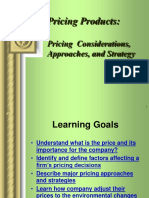 14.Pricing Considerations, Approaches, n Strategy