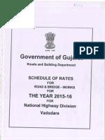 SOR Gov of Guj 2015-16 NH