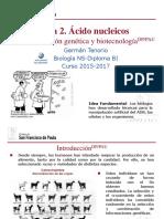 gtp_t2.Ácidos_nucleicos__5ªparte_modificación_genética_y_biotecnología__2015-17