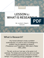 Lesson 1 What is Research-1