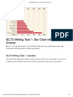 IELTS Writing Task 1_ Bar Chart With Sample Answer